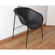 Butacón Negro Eumenes 68x59x83 Ref.SU6859