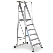 Escalera Móvil C/Plataforma Plegable 2XL