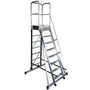 Escalera de Plataforma Móvil Aluminio 1 Acceso