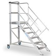Plataforma Móvil de Trabajo 45 Grados Aluminio