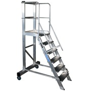 Plataforma Móvil de Trabajo Aluminio 60 Grados