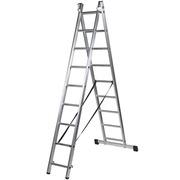 Escalera de Aluminio Doble C/Base