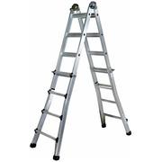 Escalera Telescópica Perfiles Aluminio
