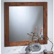 Espejo con marco madera pino modelo kubyc