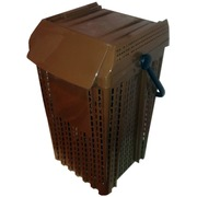 Contenedor Biosofio Plastico 25 Litros Aireado 31x34x49 cm