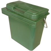 Contenedor de Plastico Verde 40 Litros 50x38x50cm