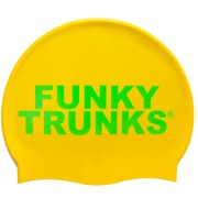 Gorro de Natación en Silicona FUNKY TRUNKS GOLD Outlet