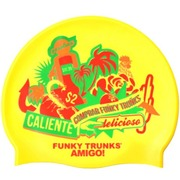 Gorro de Natación en Silicona FUNKY TRUNKS Cracy Amigo Outlet