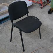 Silla Confidencial Negra Usada 55x40x80cm