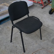 Silla Confidente Negra Usada 55x40x80cm