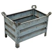 Cestón Metalico Usado 78x78x50cm
