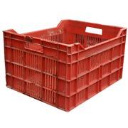 Caja de Plástico Agrícola Usada 49x40x29cm