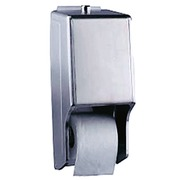 Dispensador Acero de Papel Higienico Antivandálico Ref.43