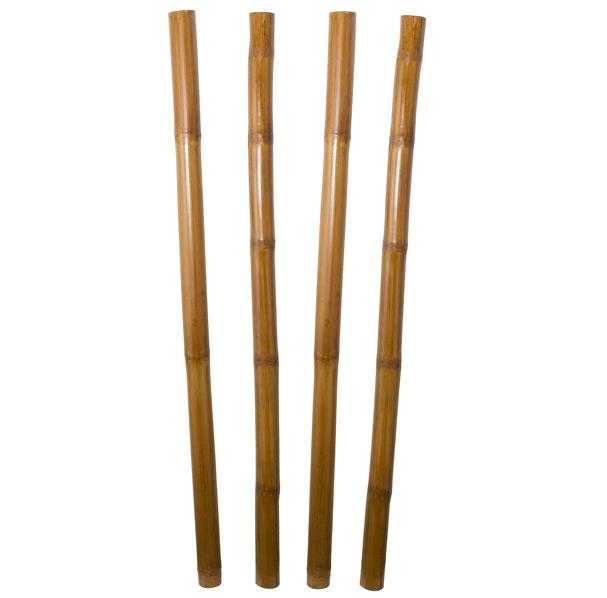 Juego 4 Cañas de Bambú 7 x 170 cm
