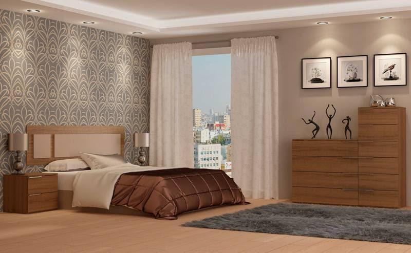 Conjunto completo dormitorio matrimonio modelo velvet for Ofertas dormitorios matrimonio completos