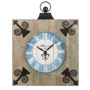 Reloj de Colgar Madera de Abeto 7 x 60 x 76cm