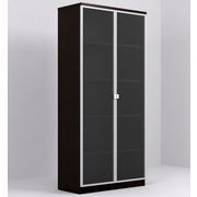 Armario 2 Puertas con Cristal Serie Dado Ref.AD0015