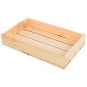 Caja de Madera Natural Pequeña 30 x 50 x 10 centímetros Ref.1003