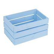 Caja de Madera Grande Azul 30x50x25 centímetros Ref.1013