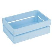 Caja Madera Mediana Azul 30 x 50 x 17 centímetros Ref.1014