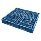Palet Cerrado Azul Usado 1100 x 1100 Ref.61118U