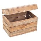 Baúl de Madera 30 x 50 x 35 centímetros Envejecida Ref.1026