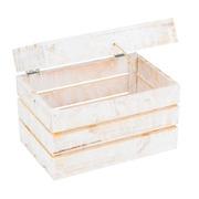 Baúl de Madera Decapado 30 x 50 x 35 centímetros Ref.1030