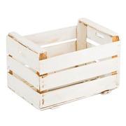 Caja de Fruta Vintage Blanca 33 x 50 x 33cm Ref.1048