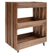 Mueble Carrito Multiusos 31 x 52 x 69,5 cm