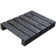 Palet Tipo 2 para Muebles 80 x 60 Negro Ref.PWBlack8060
