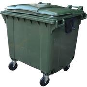 Contenedor de Residuos de 1100 litros 4 Ruedas