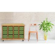 Mueble Vintage con Ruedas 12 Cajones en Hierro Ref.MW9010738