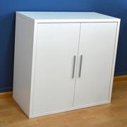 Estanteria 2 Puertas Blanco Soft 40x80x76.7cm