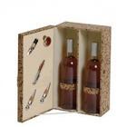 Estuche para vinos - 2 Botellas y Accesorios