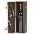 Estuche para vino Polipiel - 1 Botella - 3 Accesorios