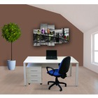Mesa Oficina con Cajonera Lumen Nº10