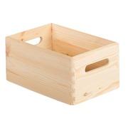 Caja de Madera de Pino sin Tapa 20 x 30 x 14 Ref.CBS302014
