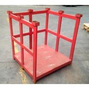 Jaula en Metal Apilable 106x110.5x119 Usada