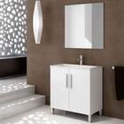 Mueble de Baño Completo Nanna 2 Puertas 45 x 60 x 84 centímetros