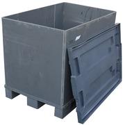 Poly Box usado 80 x 120 x 70 cm de Plastico Sleevepack