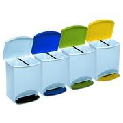 Cubo de Basura con Pedal Plastico 25 Litros Ref.88271