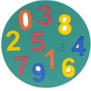 Leisis Puzzle Foam Números