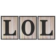 Cuadro Panorámico LOL de Madera 147x60cm