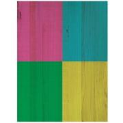 Cuadro de Madera Cuadros de Color 45x60cm