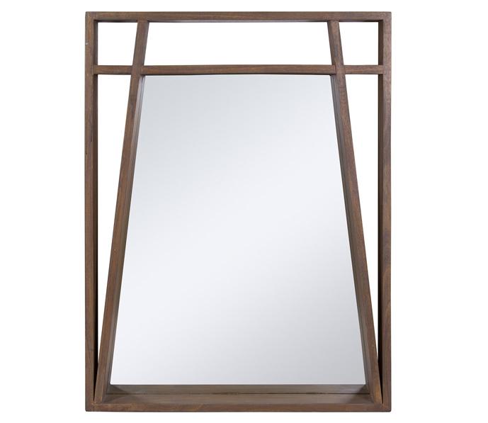 Espejo Amara Marco en Madera de Mindi 8 x 70 x 90cm