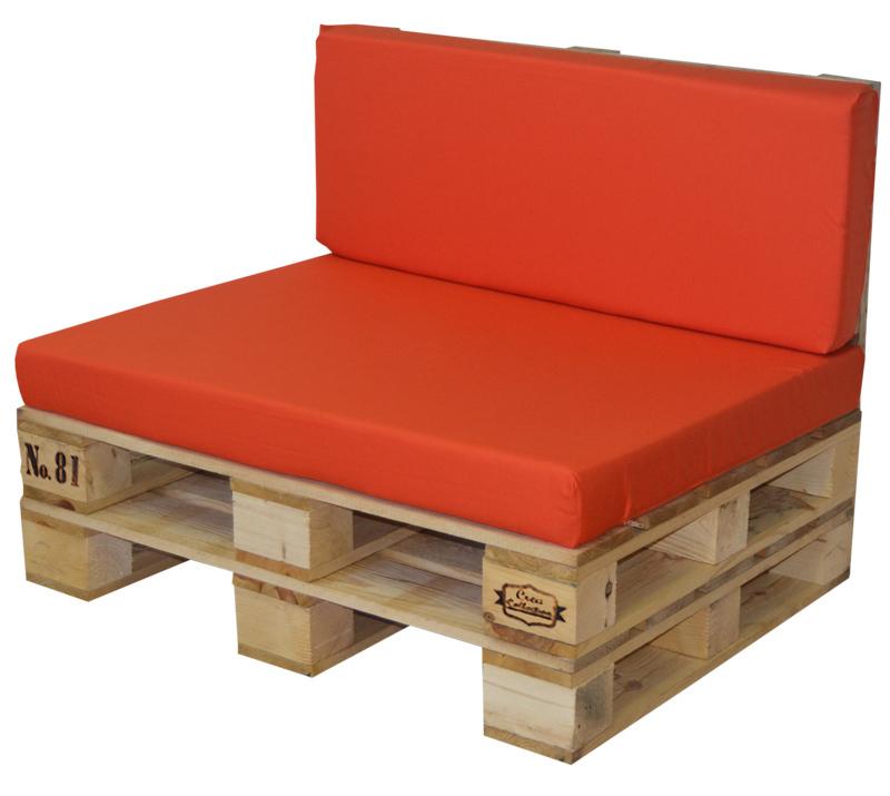 imagen de conjunto sof palet madera y cojn 100x80cm refs9p80100 - Palet De Madera