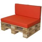 Conjunto muebles exterior Palets Sofá y Cojín 100x80