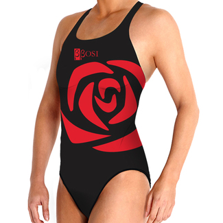 BBOSI Bañador Waterpolo Femenino Rose Woman