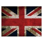 Cuadro Horizontal de Madera Bandera Reino Unido 60x45cm