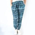 Pantalon con goma hippie Azul
